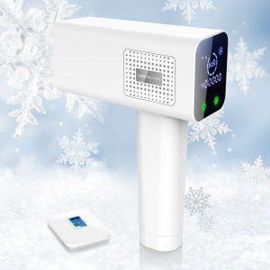دستگاه لیزر خانگی موهای زائد بدن لسکلتون 4 کاره با دوازده ماه مدل LESCOLTON T012C